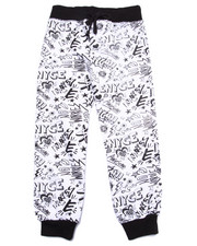 Bottoms - ALL OVER PRINT JOGGERS (4-6X)