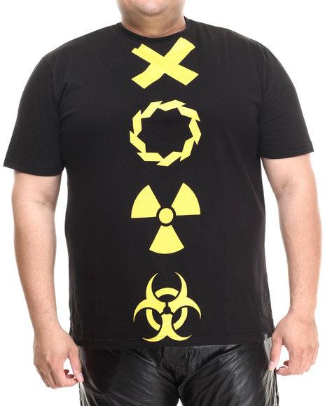 Eight 732 - Men Black Trap T-Shirt (B&T)