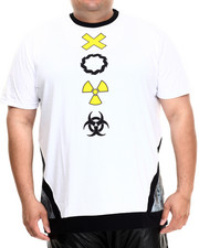 Eight 732 - Caution Long T-Shirt (B&T)