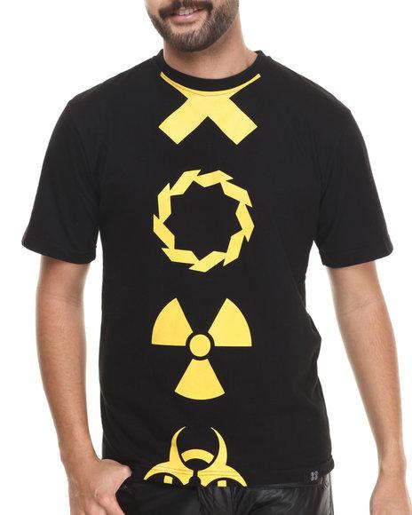 Ur-ID 213695 Eight 732 - Men Black Trap T-Shirt