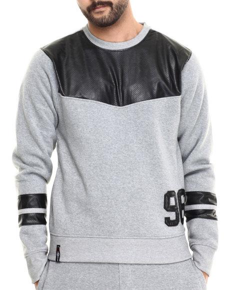 Enyce Grey Pullover Sweatshirts