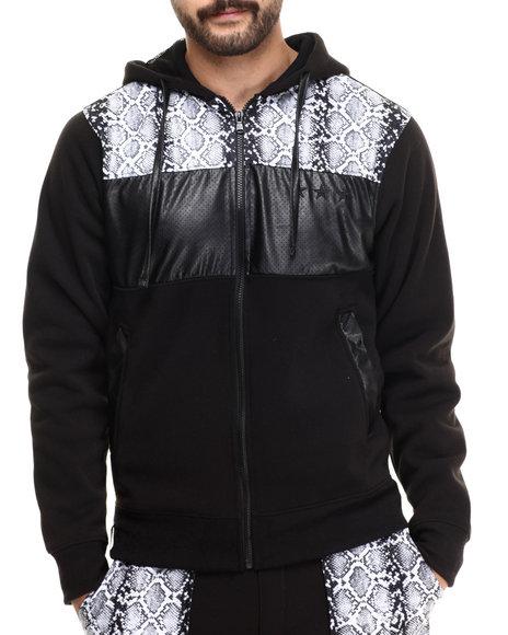 Enyce - Men Black Ross Zip Up Hoodie