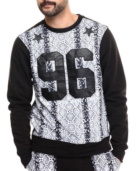 Enyce - Men Black Wayne Sweatershirt