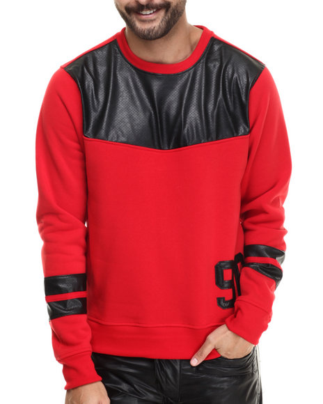 Red Pullover Sweatshirts