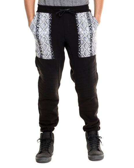 Enyce - Men Black Zef Jogger Pants - $17.99