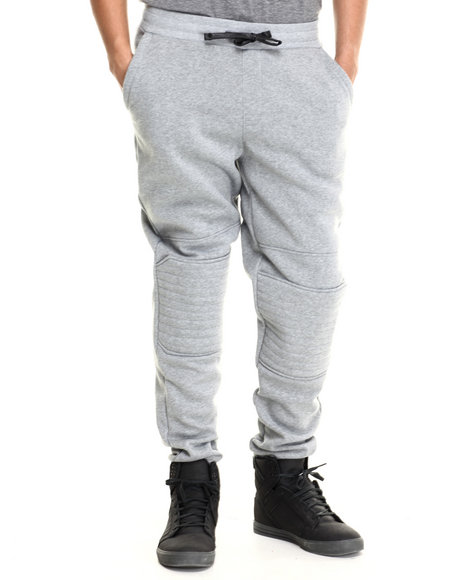 Enyce - Men Grey Ducatti Fleece Sweatpant