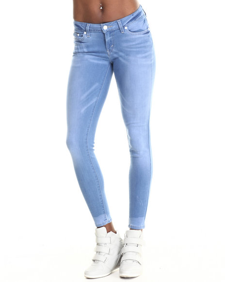 Levi's - Women Blue 535 Super Skinny Low Rise Legging