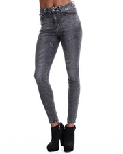Bottoms - Moto King Skinny Jeans