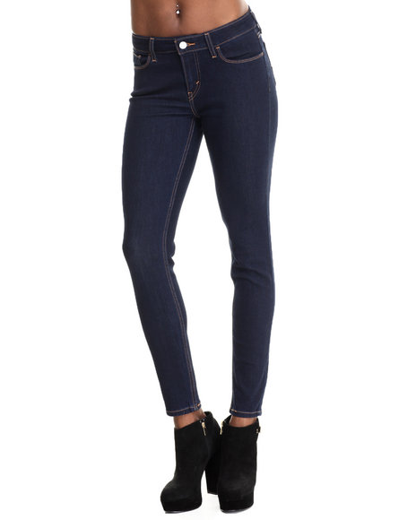 Levi's - Women Black 535 Super Skinny Low Rise Legging
