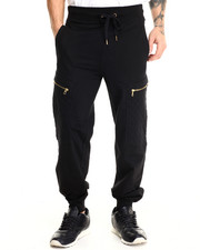 Basic Essentials - Hood Royalty Quilted Joggers