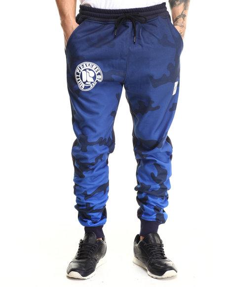 Blue Camo Pants for Men