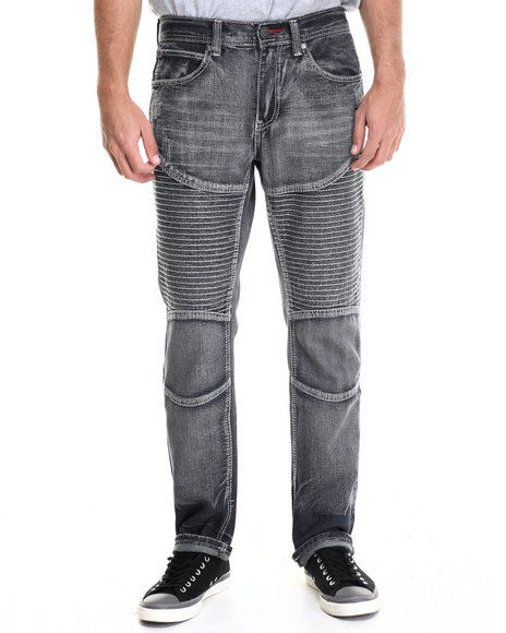 Enyce - Men Black Axel Premium Denim Jean