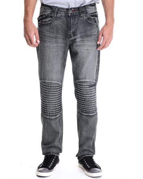 Enyce - Men Black Tron Premium Denim Jean