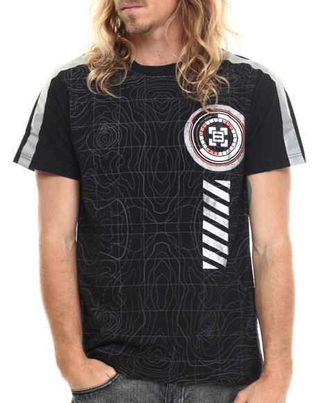 Enyce - Men Black Nove T-Shirt