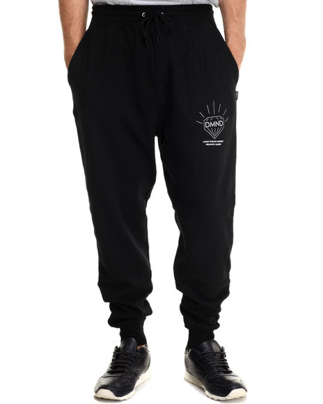 Diamond Supply Co Men Brilliant Sweatpants Black Large