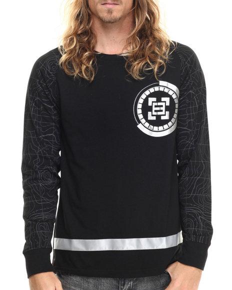 Enyce - Men Black Pulsar L/S T-Shirt