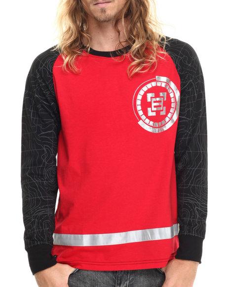 Enyce - Men Red Pulsar L/S T-Shirt