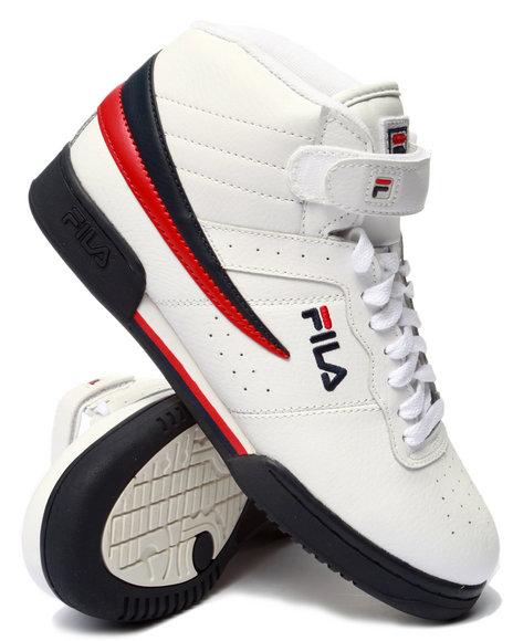 Fila - Men White F-13 Sneaker