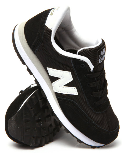 New Balance - Boys Black 501 Sneakers (11-7)