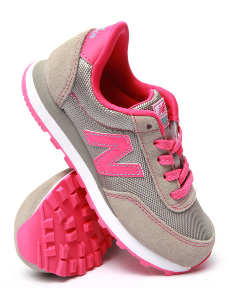 New Balance - Girls Pink 501 Sneakers (11-7)