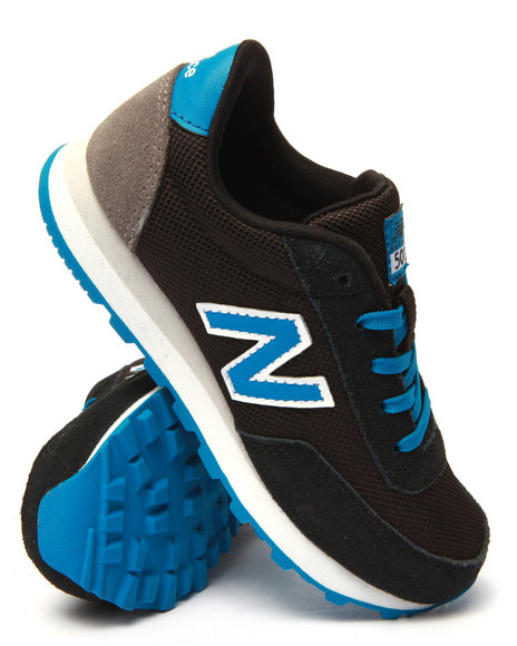 New Balance - Boys Blue 501 Sneakers (11-7)