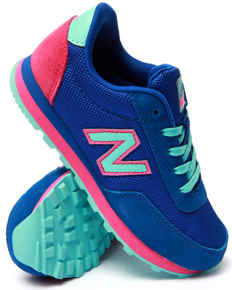 New Balance - Girls Blue 501 Sneakers (11-7)
