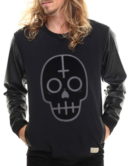 Entree - Men Black Muertos Match Sweatshirt