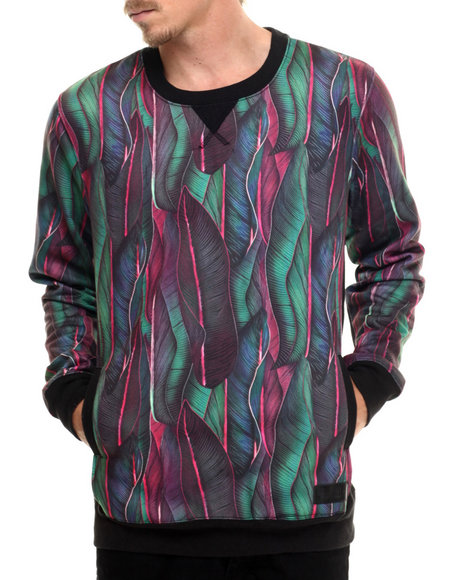 Entree - Men Black,Multi Cliff Hux Sweatshirt