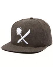 Men - Crosscut Snapback Cap