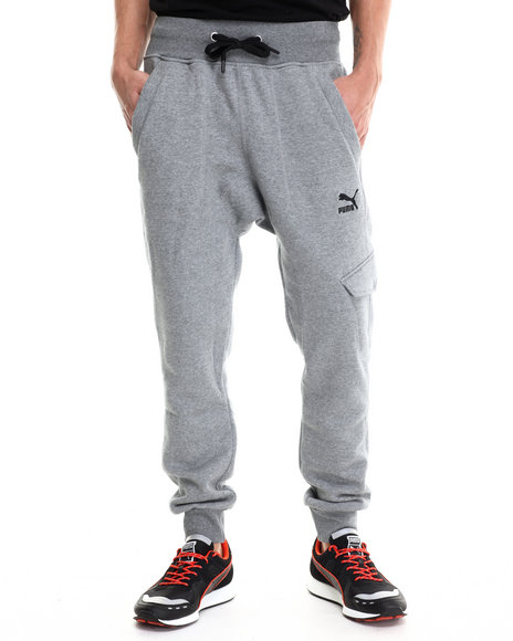 Men Cargo Sweatpants with Pockets