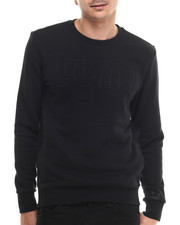 Men - Signature Embossed Crewneck Sweatshirt