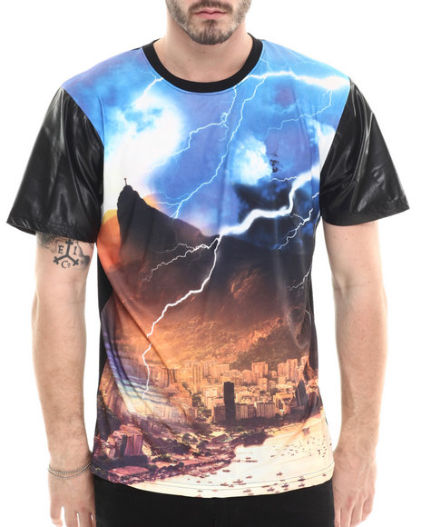 Buyers Picks - Men Black Buenos Aires Sublimation S/S Tee