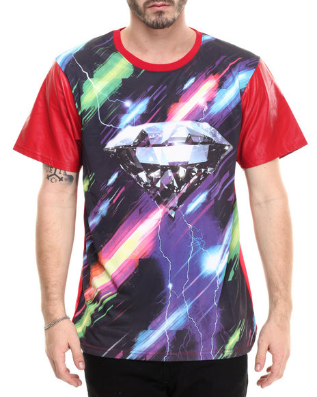 Buyers Picks - Men Multi,Red Wall Sublimation S/S Tee