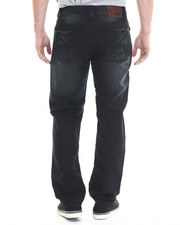 Men - Black Sand Hand embossed back pocket denim jeans