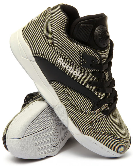 Reebok - Men Black Court Victory Pump Tech