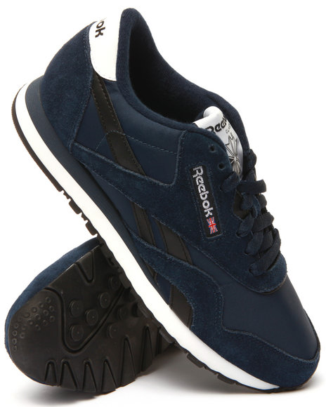 Reebok - Men Navy Classic Nylon R13