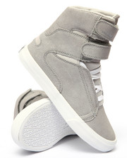 Sneakers - Society II Metallic Suede Mesh Detail High Top Sneaker