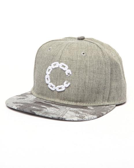 Crooks & Castles Men Tactics Snapback Cap Grey - $30.00