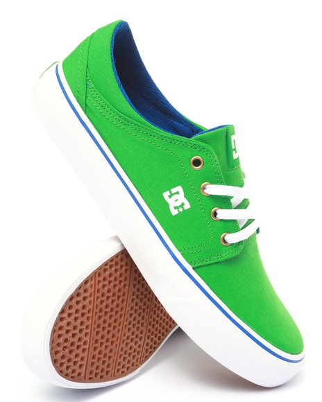 Ur-ID 213889 DC Shoes - Men Green Trase Tx