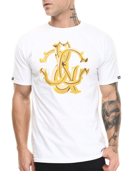 Crooks & Castles - Men White Florence C's T-Shirt