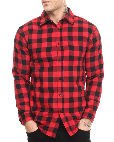 Akomplice - Men Red Ride X Ak Lumberjack Button Up Shirt