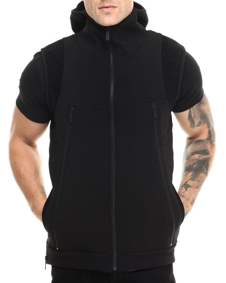 Ur-ID 213902 Entree - Men Black Unknown Black Vest