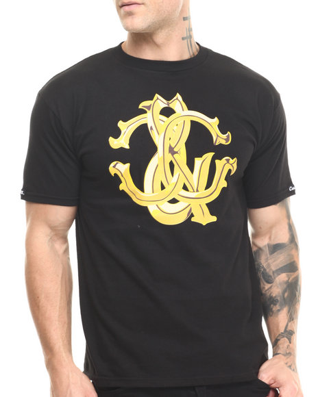 Crooks & Castles - Men Black Florence C's T-Shirt