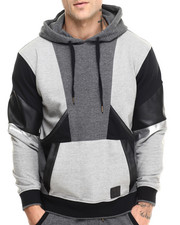 Men - Multi Panel Hoodie