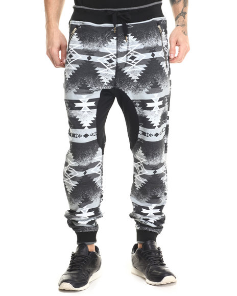 Allston Outfitter - Men Black,Grey Speckle Navajo Jogger