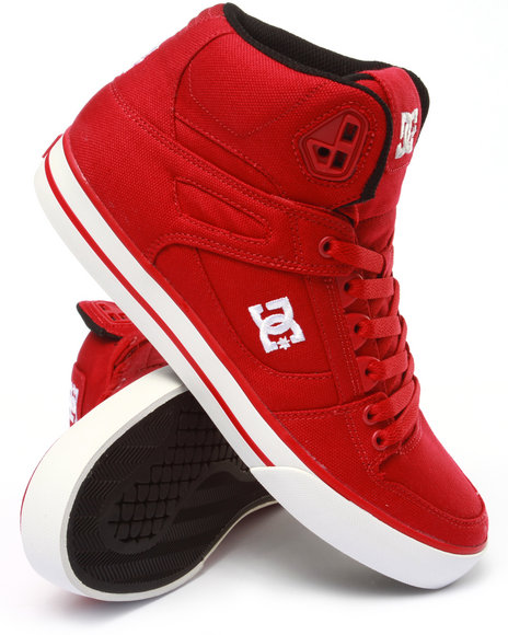 Dc Shoes - Men Red Spartan High Wc Tx