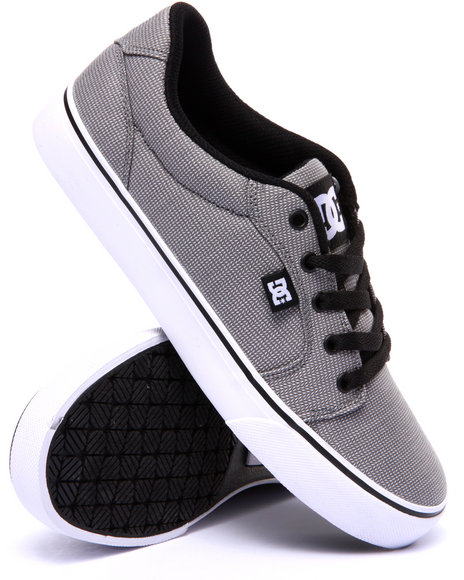 Dc Shoes - Men Light Grey Anvil Tx Se