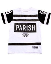 Boys - PARISH NATION JERSEY TEE (4-7)