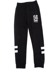 Sizes 8-20 - Big Kids - MESH PANEL JOGGER PANTS (8-20)
