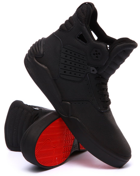 Supra - Men Black,Red Skytop Iv Sneakers